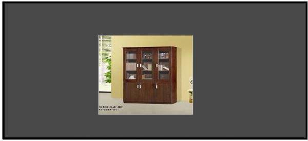 صورة لدولاب مكتب 2 باب 031-0008 Brown