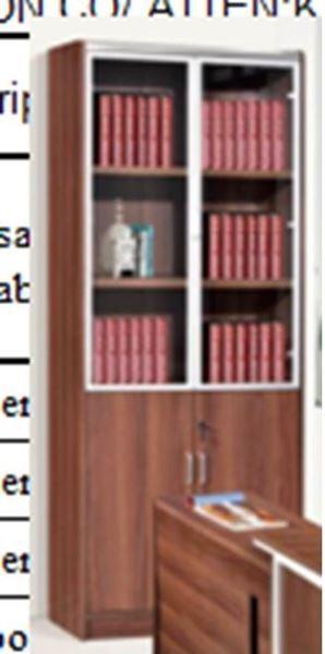 صورة لدولاب ملفات 2 باب 031-0034 WALNUT