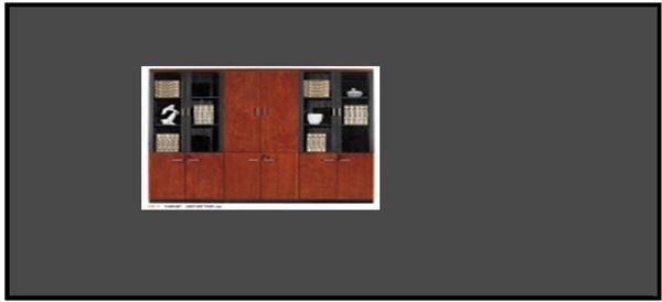 صورة لدولاب ملفات 6 باب N31-C Walnut