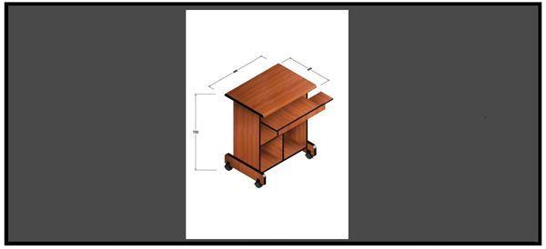 صورة لطاولة كمبيوتر 051-0001