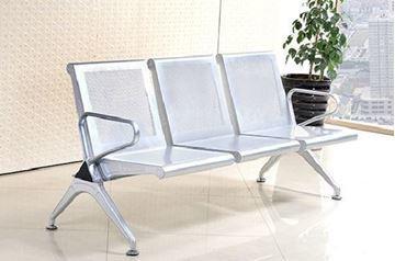 صورة لكرسي انتظار 3 مقعد  044-0013 سلفر