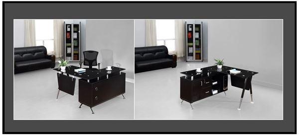صورة لمكاتب اداريين 140سم 010-0104 Black