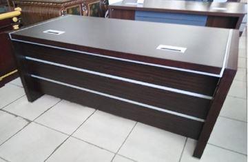 صورة لمكاتب ادارين 140سم 010-0228 red \ brown