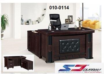 صورة لمكاتب ادارين 160سم 010-0112