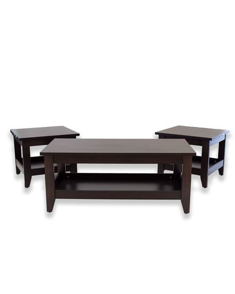 صورة لطاولة خدمة ( 2+1 )  201-0179 Chocolate