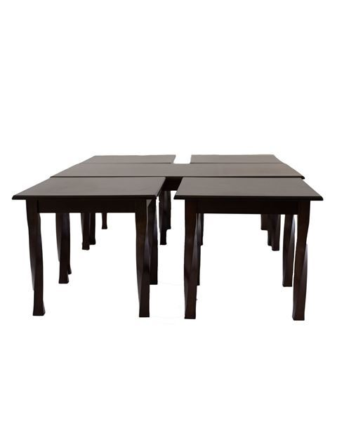 صورة لطاولة خدمة 4+1  201-0180 BROWN