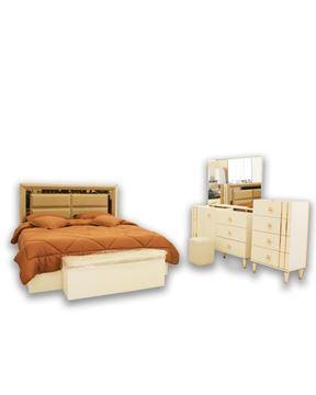 صورة لغرفة نوم  مزدوج 703-0825   REBAB WHITE
