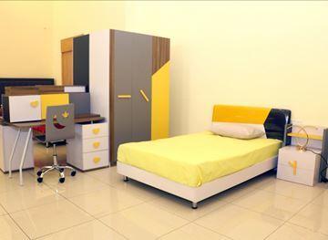 صورة لغرفة نوم اطفال   703-0809 YELLOW+GRAY