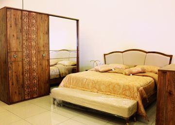 صورة لغرفة نوم  مزدوج 703-0838 PAPATYA  -  WALNUT