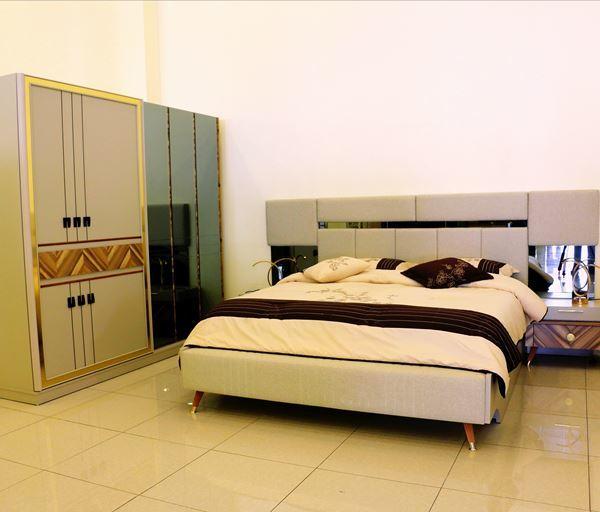 صورة لغرفة نوم مزدوج  BAHRA 703 -0853 - WALNUT