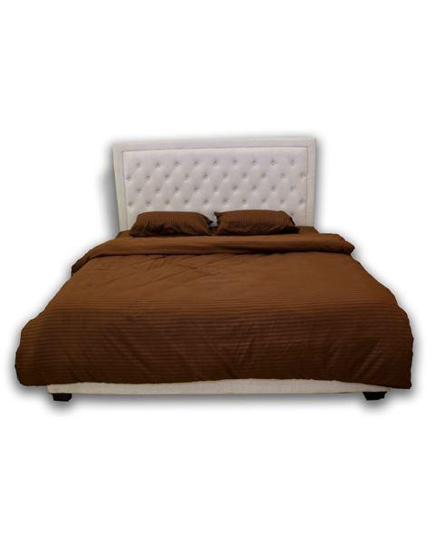 صورة لسرير مزدوج 102-0003  بيج