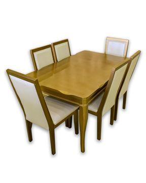 صورة لطاولة طعام 6 كرسي 202-0135 GOLDEN