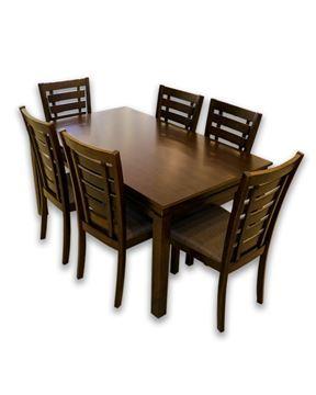 صورة لطاولة طعام 6 كرسي بني 202-0139