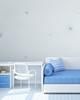 ورق جدران دبلكس BLUE / SILVER