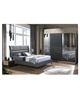 غرفة نوم مزدوج 703-0833 BLACK & WALNUT INFINITY