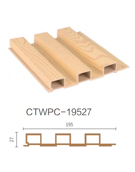 ألواح جدران داخلية بديل خشب .BEIGE.L2900.W155