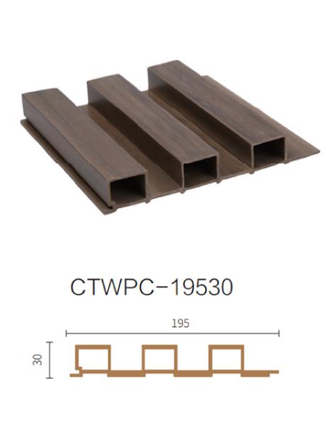 ألواح جدران داخلية بديل خشب .DARK.BROWN.L2900.W195