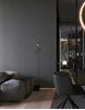 ألواح جدران داخلية بديل خشب .LIGHT.GREY.L2900.W155