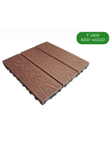 بلاط أرضيات .Wood.Red 300*300*23