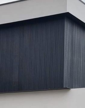 ألواح جدران خارجية بديل خشب .Wallnut.L2900.W219